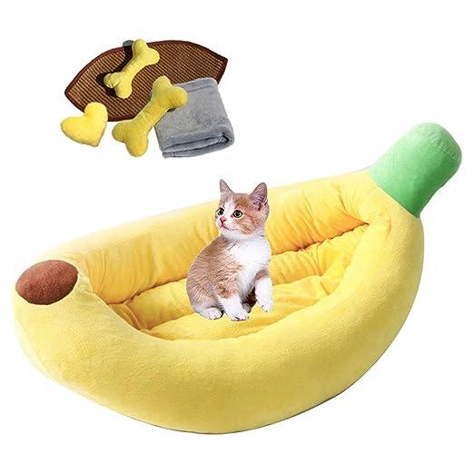 DYYTR Cama Plegable para Gatos, Autocalentable para Gatos ...