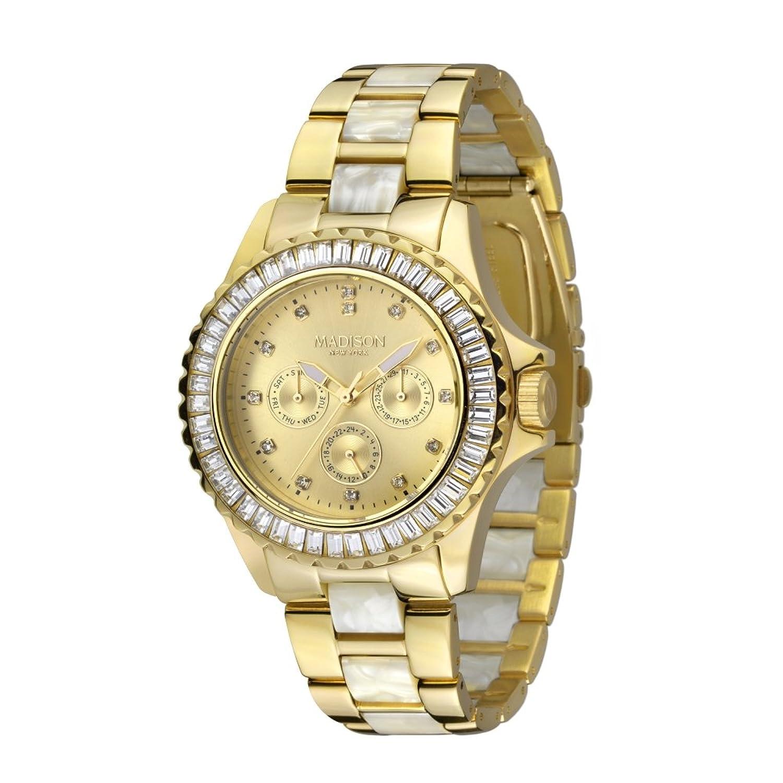 Madison New York Glamor Damen Armbanduhr Pamela L4794C1
