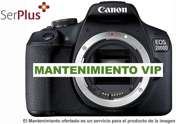Mantenimiento VIP para Canon EOS 2000D. Un año de Servicio ...