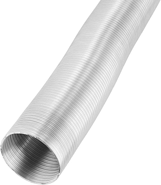 XAVAX 00110204 - Manguera de drenaje de aluminio para campana extractora extractora, 120 mm, 5 m: Amazon.es: Hogar