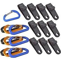 Yardwe 20st Tarp Clips Heavy Duty Winddicht Luifel Klem Grip Tent Clips Camping Karabijnhaak Gesp Clip Accessoire…