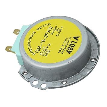 Mxfans MS1245ACS - Motor giratorio para microondas (6,7 cm ...