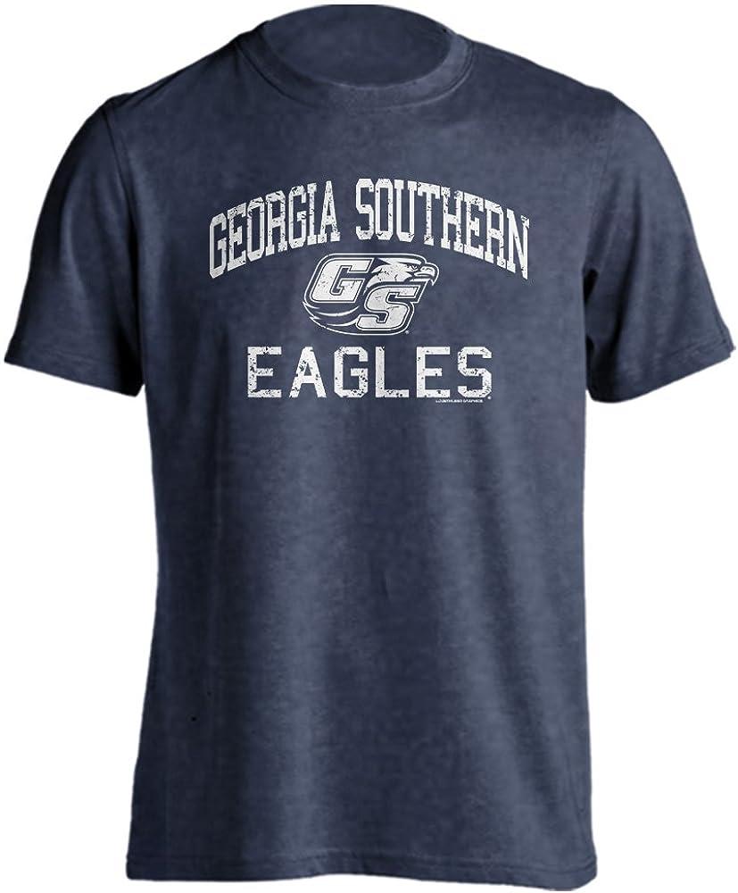 Georgia Southern Eagles Retro Distressed Short Sleeve T-Shirt
