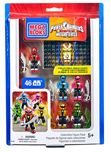 Mega Bloks Power Rangers Collectible Figure Pack