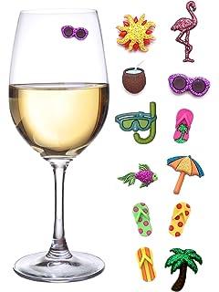 Amazon com: NPW Drinking Buddies Cocktail/Wine Glass Markers