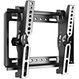 """JXMTSPW TV Mount for Most 14-42 Inches Flat Curved Screen TVs and Monitor, Fit 22 24 27 32 39 40"""" Universal Small Tilt TV Wal"""