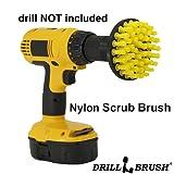 Power Spinning Detailing Nylon Scrub Brushes
