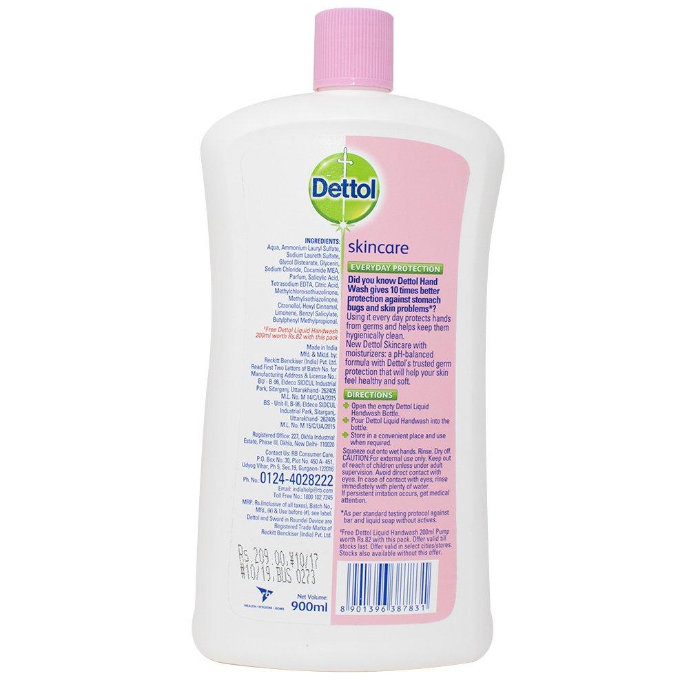 Dettol Liquid Soap Jar Skincare 900 Ml Health Personal Body Wash Refill Cool 450 Care