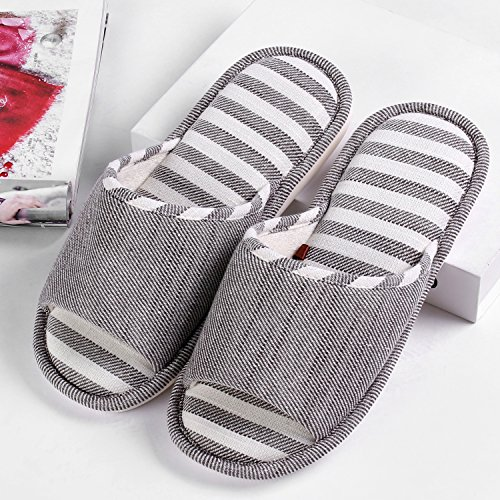 Shoes House Indoor Lightweight Blue Home Moodeng Slip Washable Slipper Women by Slide Slippers Men Non qABngYw