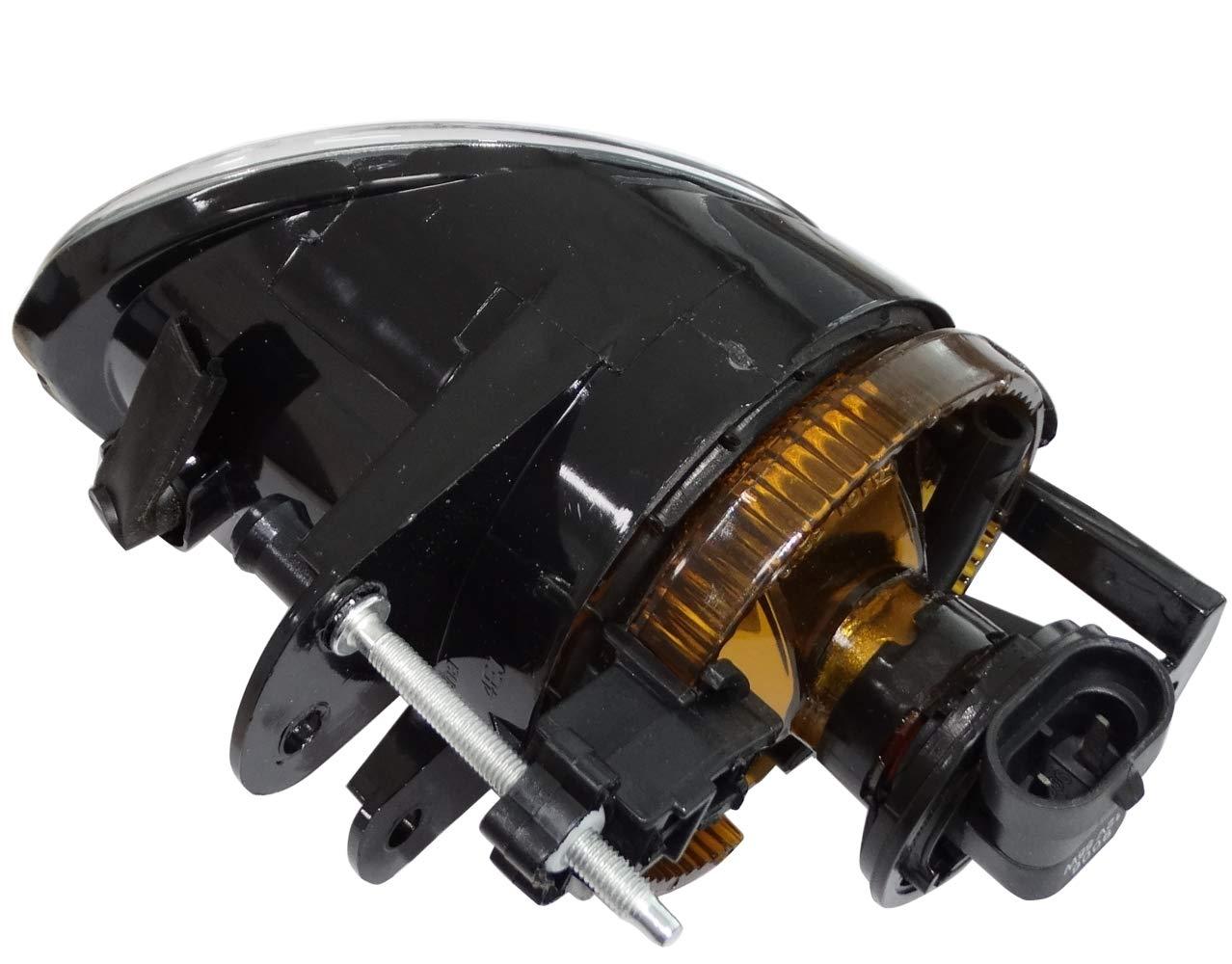 AERZETIX Faro proyector luces de antiniebla izquierda C40840 compatible con 3C0941699B