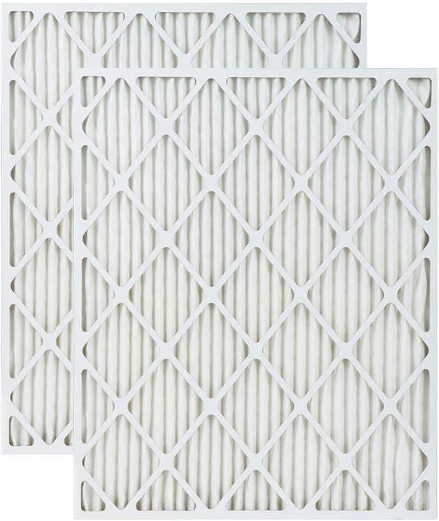 Accumulair Gold 22x23.5x1 MERV 8 Air Filter//Furnace Filter 2 Pack Actual Size