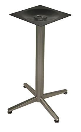 ATC Amanda Stainless Steel 4 Leg Table Base, 21u0026quot; L X 21u0026quot;