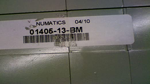 Numatics 01405-13-Bm Pneumatic Manifold//Solenoid Assembly 01405-13-Bm
