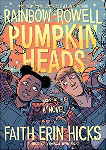 Image result for Pumpkinheads by Rainbow Rowell & Faith Erin Hicks
