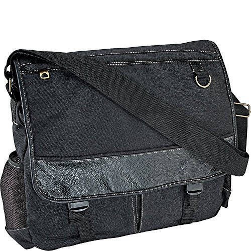 r-r-collections-washed-canvas-messenger-bag-black