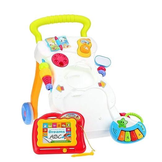 Caminar bebé Asistente del niño que recorre arnés Manija, Se pone ...