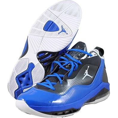 Men's Nike Air Jordan Melo M8 469786 018 Anthracite White Varsity Royal  Black (Men's 11