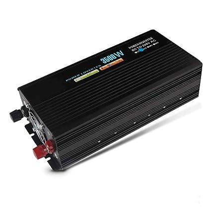 Amazon.es: XMAGG 3500W Inversor de Corriente 12V a 220V ...