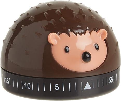 Amazon Com Kikkerland Hedgehog 60 Minute Kitchen Timer Brown Kitchen Dining