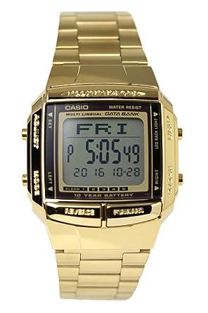 95cc463860 Amazon | [カシオ]CASIO メンズ 腕時計 データバンク 海外モデル DB-360G ...