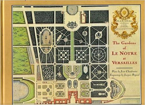 Gardens Of Versailles Plan 11