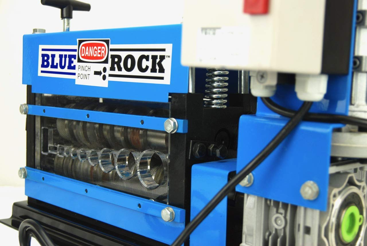 BLUEROCK Tools Model MWS-808PMO Wire Stripping Machine Copper Cable Stripper by BLUEROCK (Image #6)