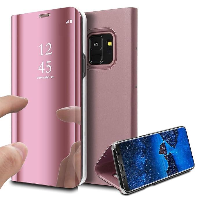 2 opinioni per MP4 Telecom Custodia Samsung S9 Cover a Specchio Samsung Galaxy S9 Ideale per