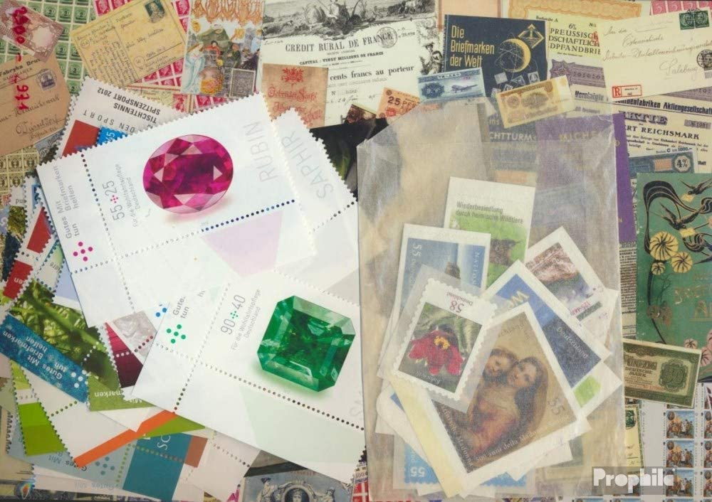 Prophila Collection RFA (RFA.Alemania) Michel.-No..: 2900-2971 (Completa.edición.) año 2012 completaett 2012 Parque Nacional Jasmund, Piedras Preciosas u. (Sellos para los coleccionistas)