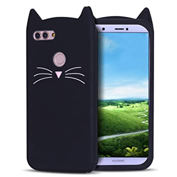coque huawei p smart chat