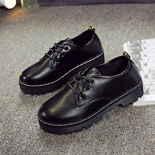 Negro Primavera Tacón Sandalias Abierto Blanco US8 UK6 Bowknot Confort Vestidos Cuña Zapatos CN39 PU UE39 Zapato de Blanco I7wqHH