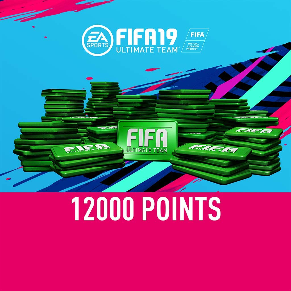 FIFA 19: 12000 FIFA Points - PS4 [Digital Code] by Electronic Arts