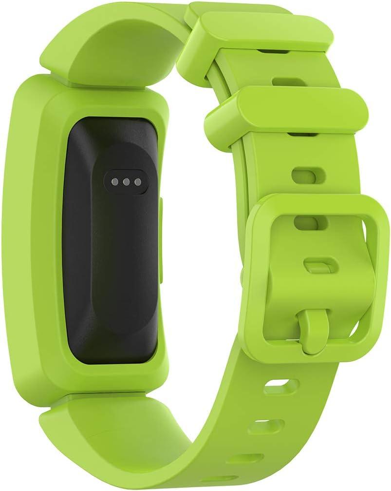 Ruentech Bracelets de Rechange en Silicone pour Tracker dactivit/é Fitbit Ace 2