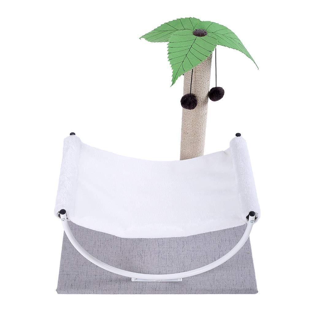 HQQ Pet Bed Four Seasons Universal Full Set Of Small Nest Dog House Cat Litter Fun Hanging Ball