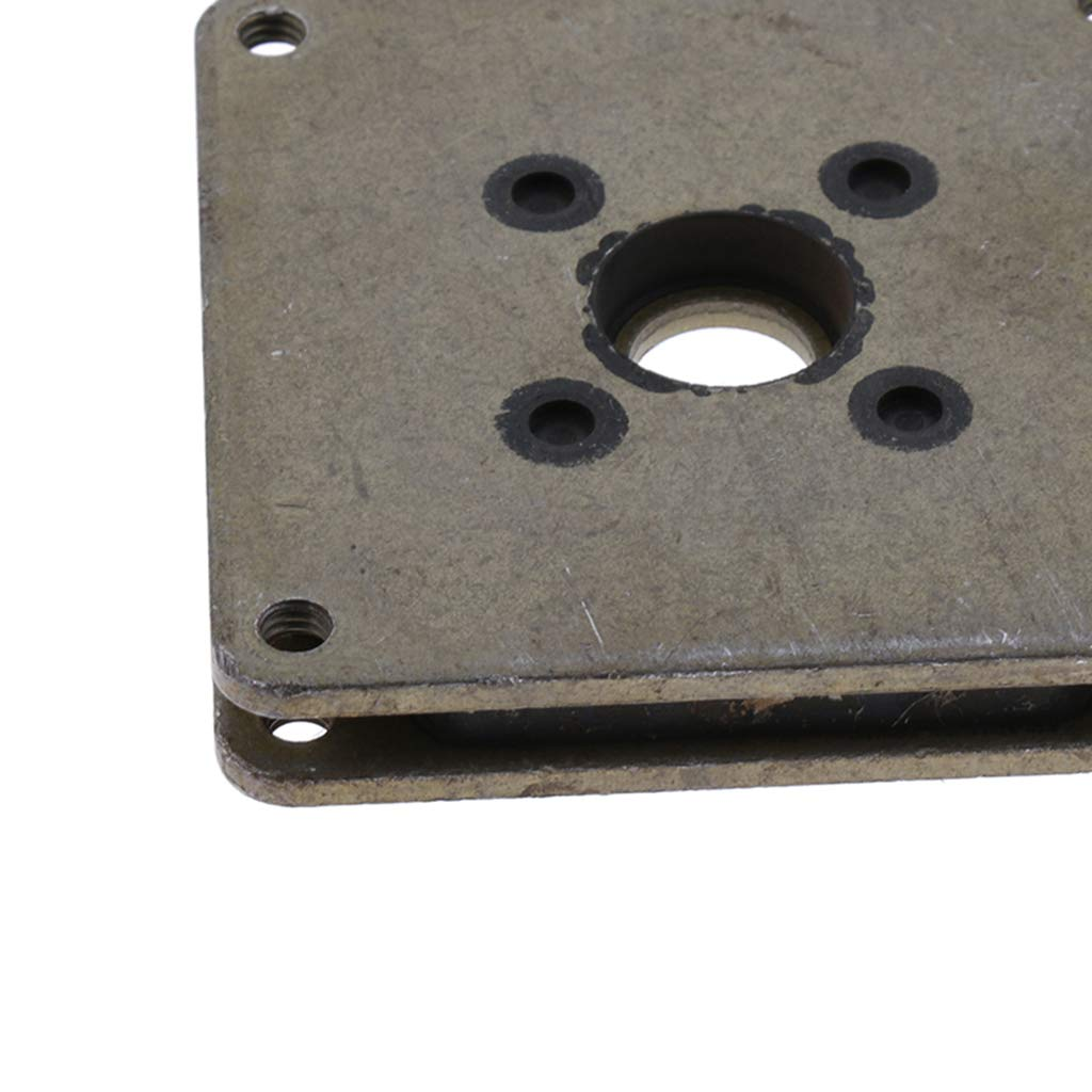 B Blesiya Aluminium Vibration Damper Shock Absorber Ring Bracket for 57 Stepper Motor #2