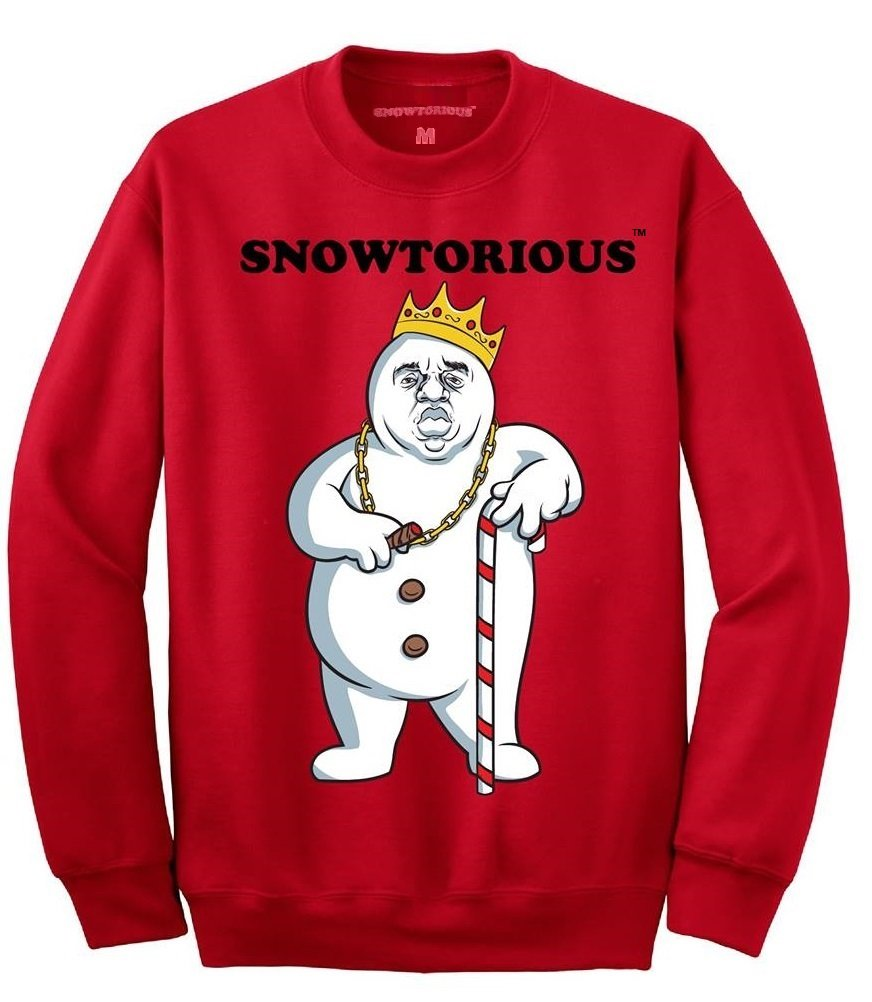 Snowtorious - Ugly Christmas Sweater (red, XL) at Amazon Men\'s ...