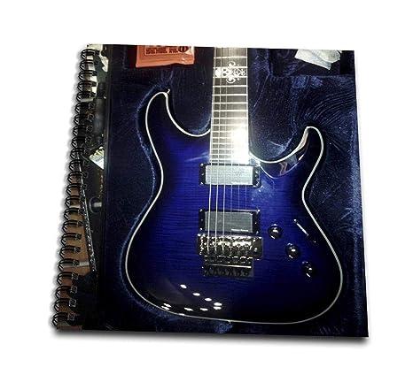 3dRose db_194734_2 - Guitarra eléctrica (diseño de Calavera, 30,5 x ...