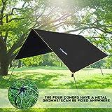 Lightweight Hammock Sun/Rain Tarp Shelter Shade
