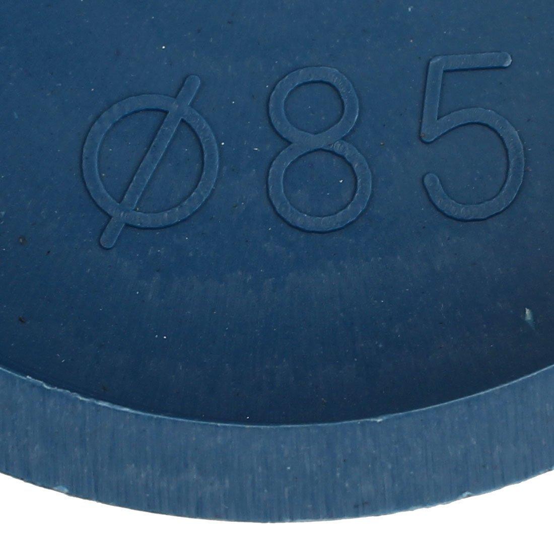 eDealMax 85mm Bride mont/ée fusel/és Stoppers Trou Caps /étanche 10pcs Bleu