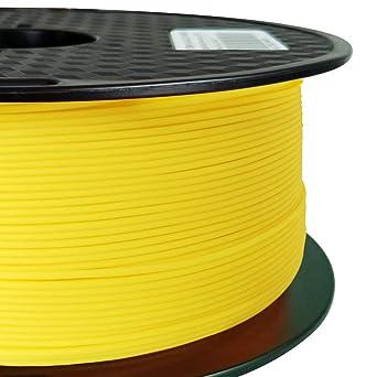 Amazon.com: PLA MAX Filamento PLA amarillo 0.069 in ...