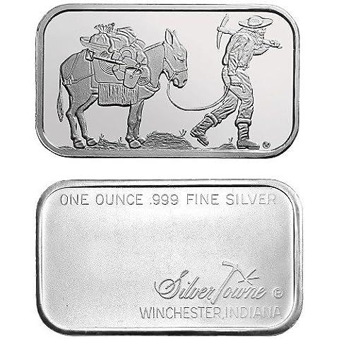 Silver Town (Gold Buffalo Necklace)