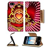 imperial armband iphone 5 - Liili Premium Apple iPhone 5 iphone 5S Flip Pu Leather Wallet Case Heart Emblem iPhone5 Photo 21648705 Simple Snap Carrying
