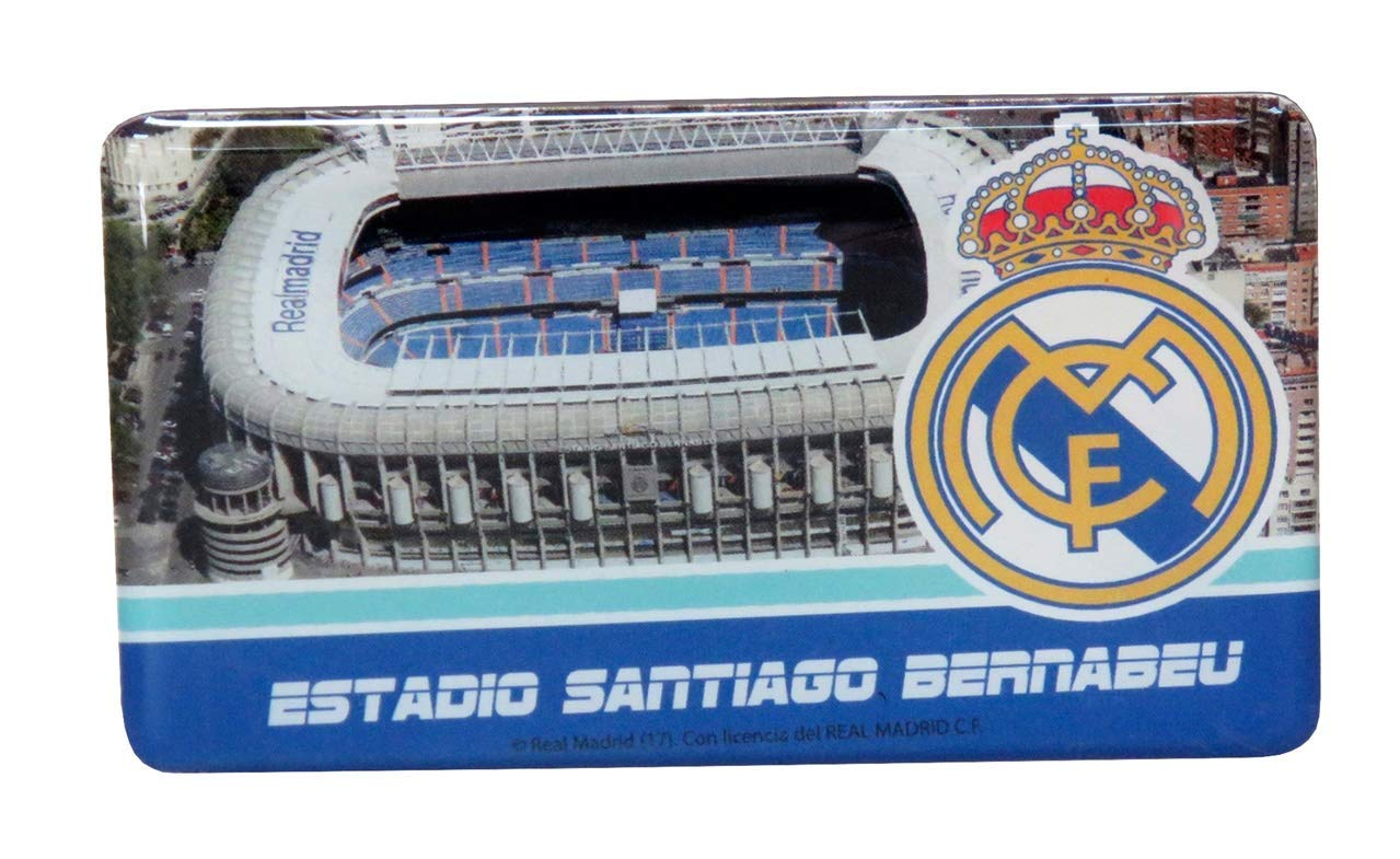 Real Madrid CF- Imán Escudo, Multicolor (CYP IM-29-RM ...