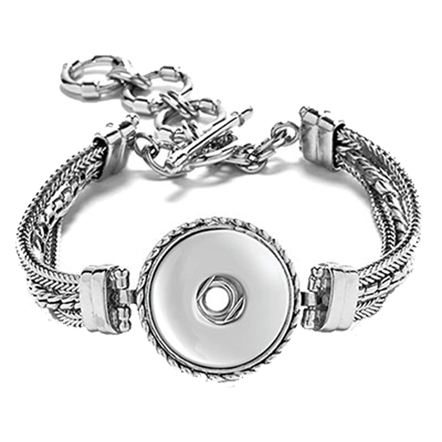 interchangeable with watch floating face use bracelet pin locket component bracelets