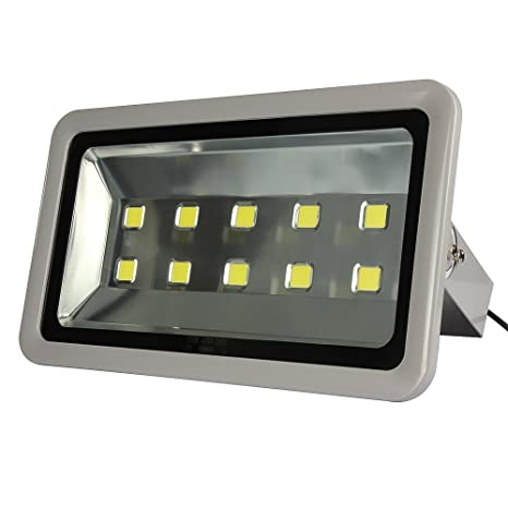 Amazon morsen super bright led flood light 500w 50000lm for indoor morsen super bright led flood light 500w 50000lm for indoor outdoor lighting fixture daylight white 6000k mozeypictures Images