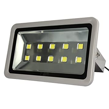 Amazon morsen super bright led flood light 500w 50000lm for morsen super bright led flood light 500w 50000lm for indoor outdoor lighting fixture daylight white 6000k mozeypictures Gallery