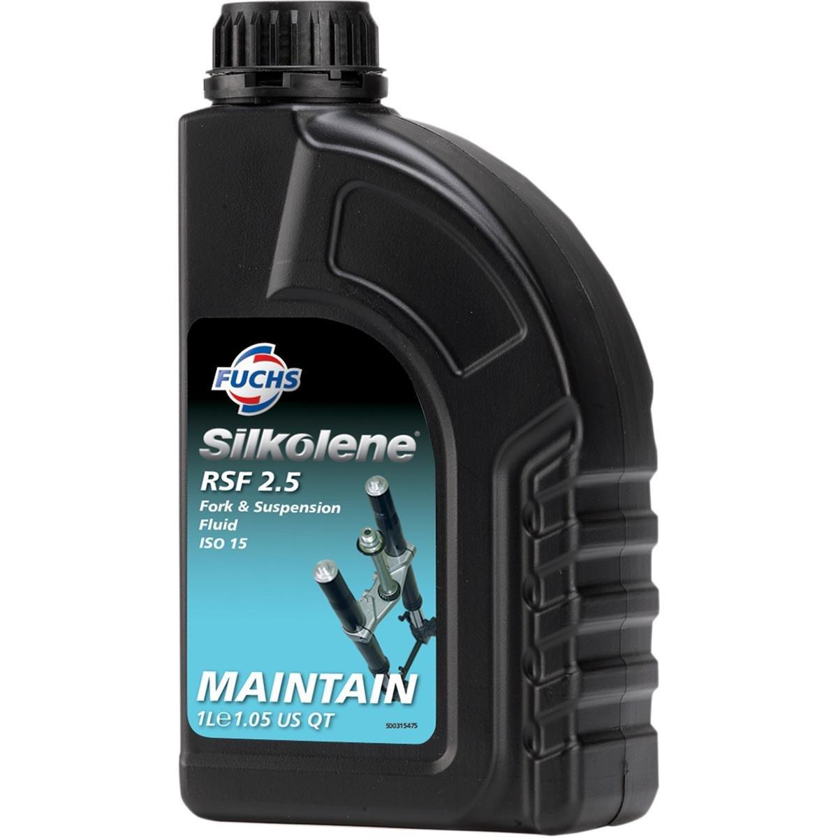 Silkolene 600967697 Pro RSF Fork Oil - 2.5wt. - 1L.