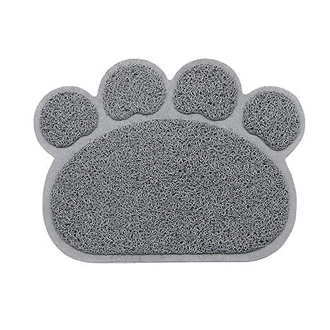 Roblue Alfombra de Arena de para Perros Gatos Animales de Compagne Forma de Garra Set de