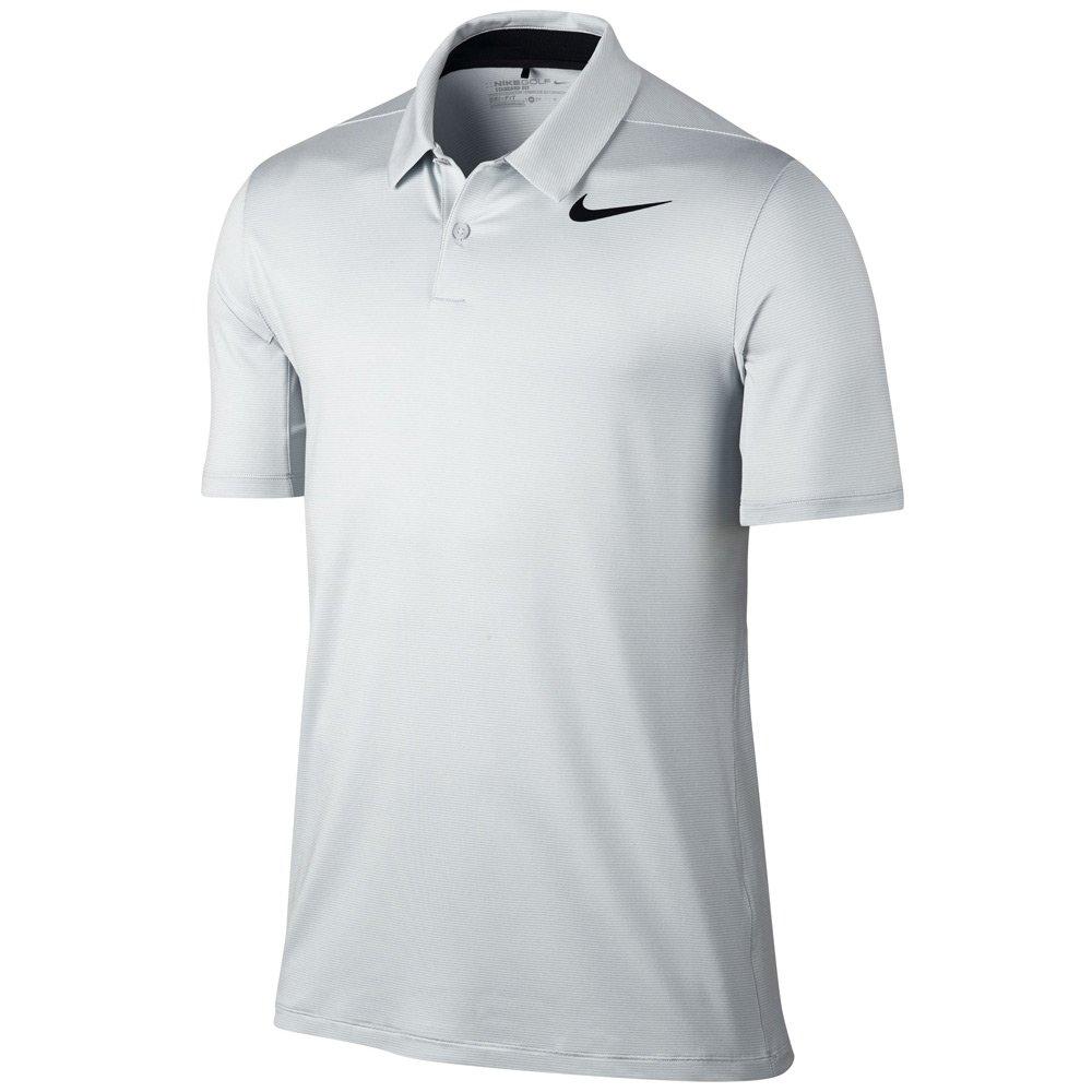 Nike Golf Men's 2017 Mobility Control Stripe Polo, White/Black, XX-Large by Nike