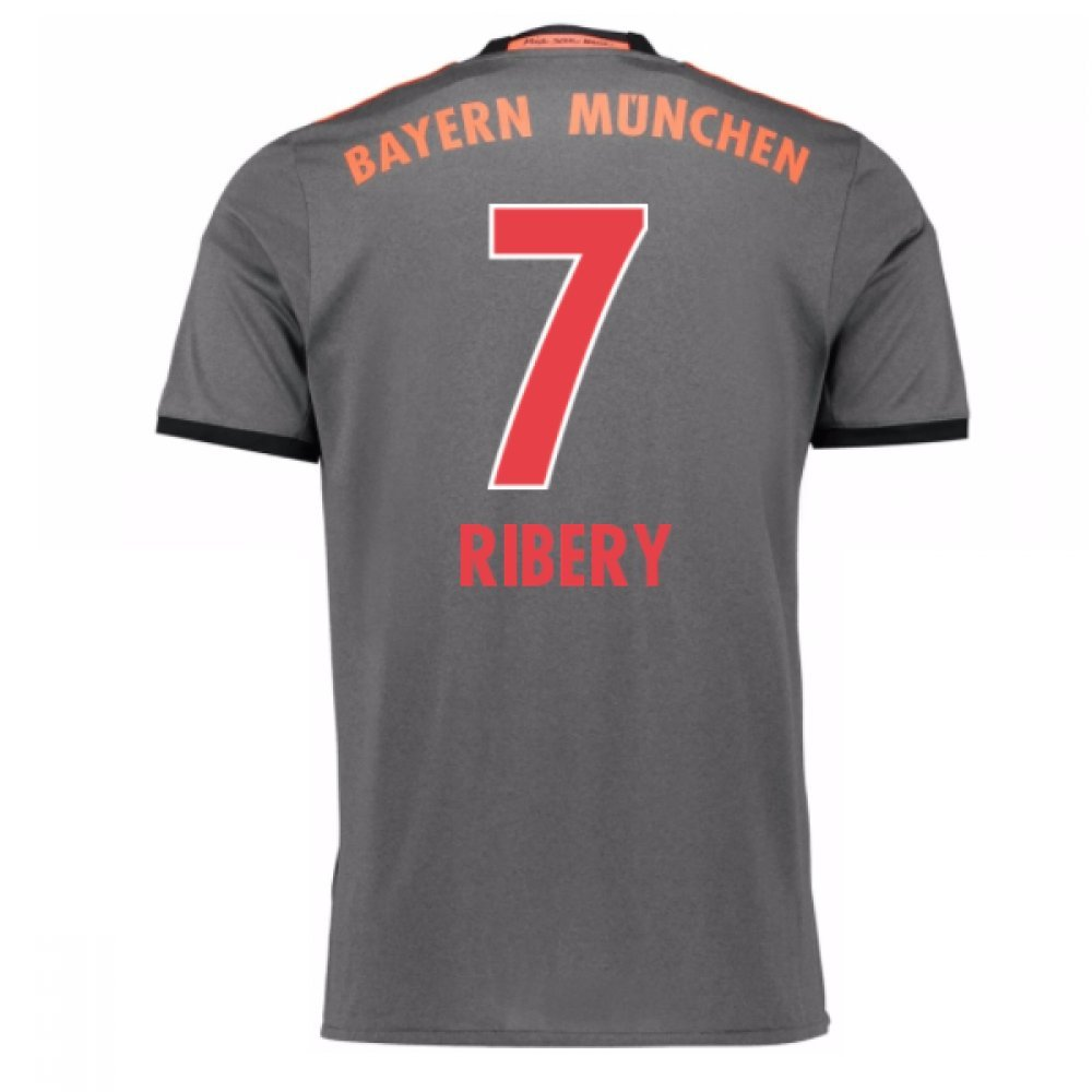 2016-17 Bayern Munich Away Football Soccer T-Shirt Trikot (Franck Ribery 7) - Kids