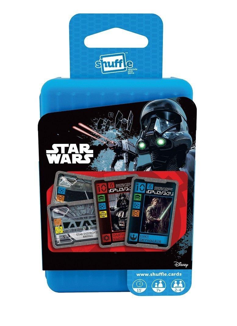Shuffle Clásico Juego de Cartas,, Star Wars: Amazon.es ...